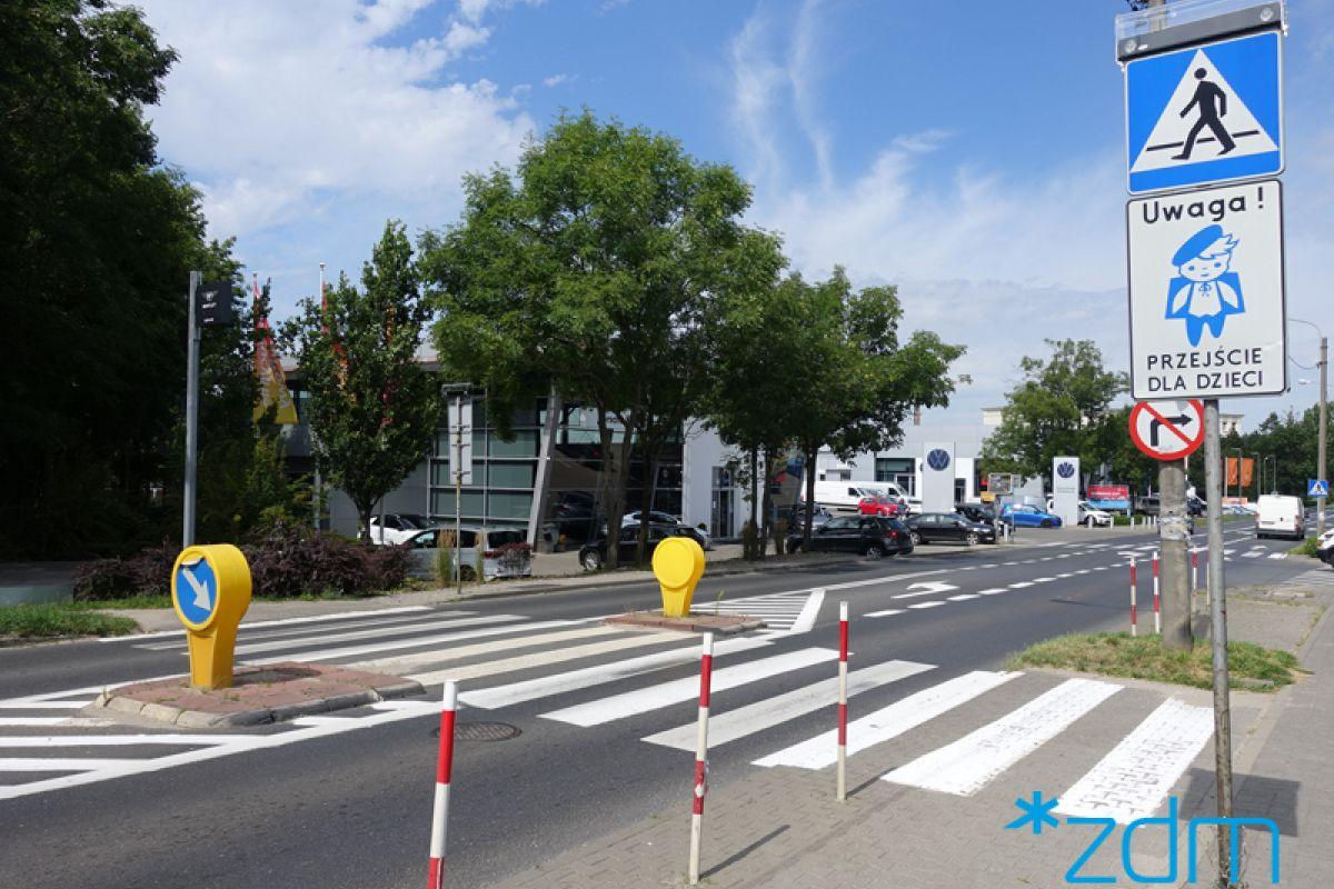 Bezpieczniej na przejściu przez ul. Krańcową