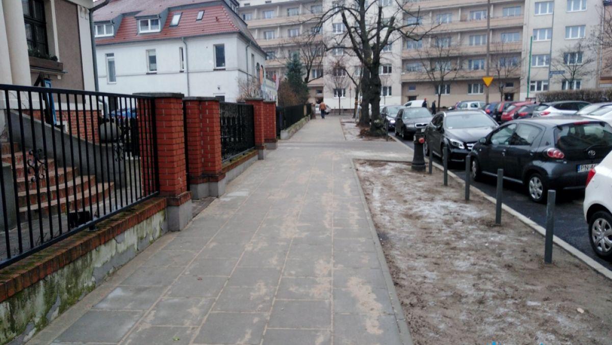 Wyremontowaliśmy chodnik na ulicy Langiewicza