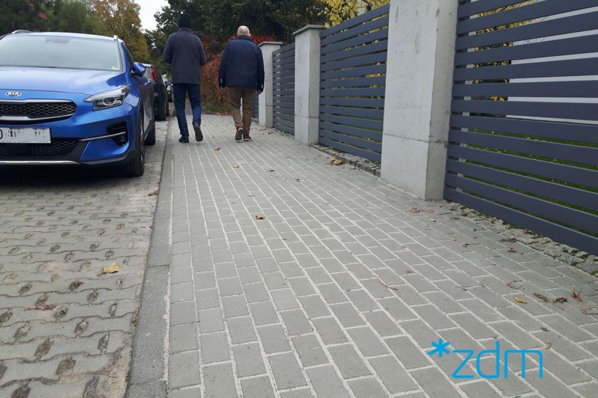 Nowy chodnik na ulicy Lubieńskiej