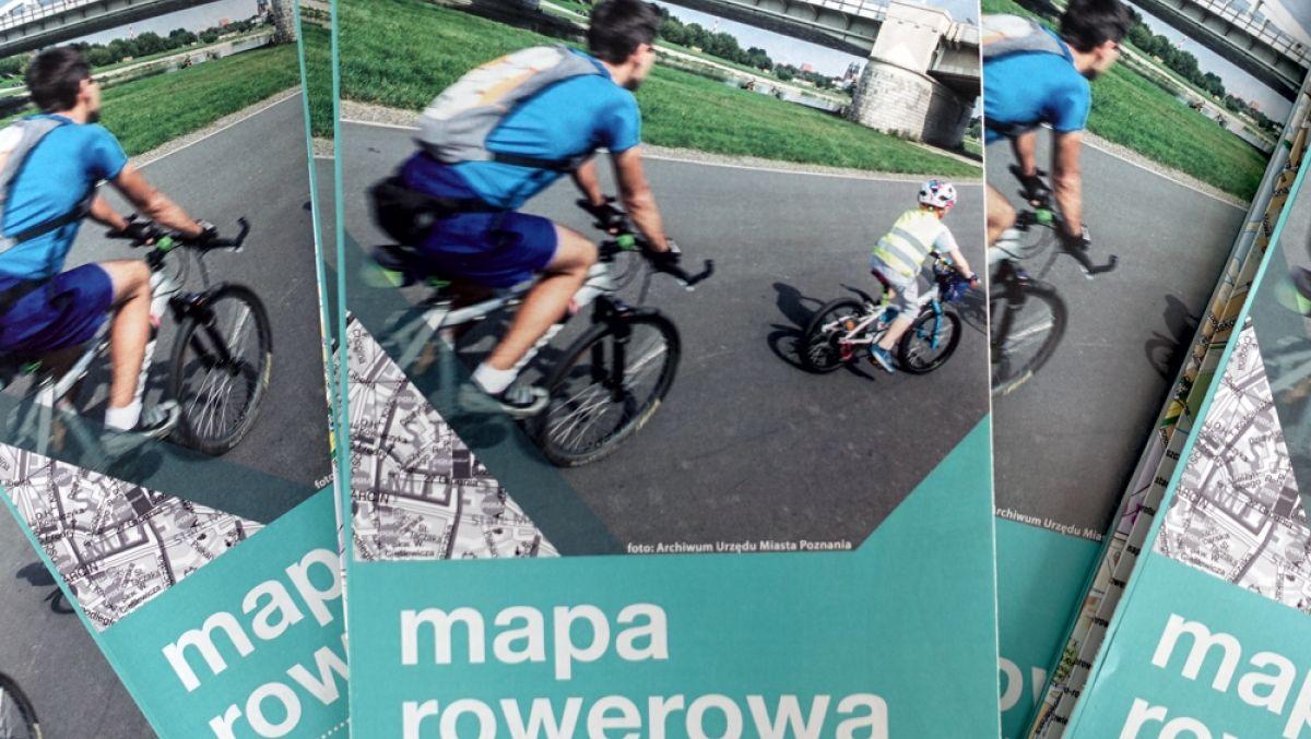 Najnowsze wydanie mapy rowerowej