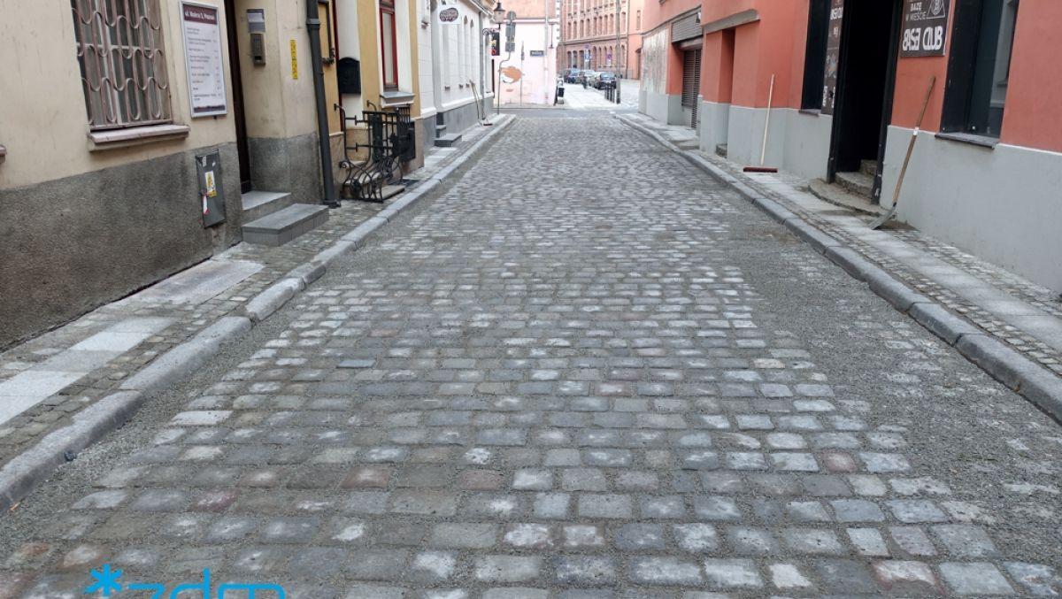 Wyremontowaliśmy ulicę Mokrą