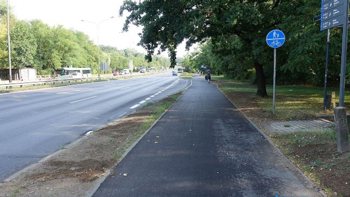 Remont drogi rowerowej na ulicy Niestachowskiej