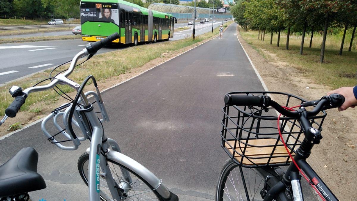 Wyremontowana trasa dla rowerzystów i pieszych