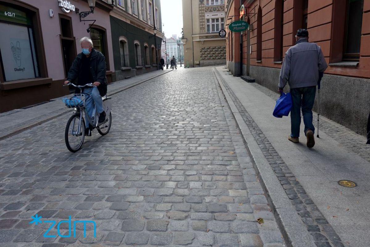 Ulica Rynkowa po odbiorze technicznym