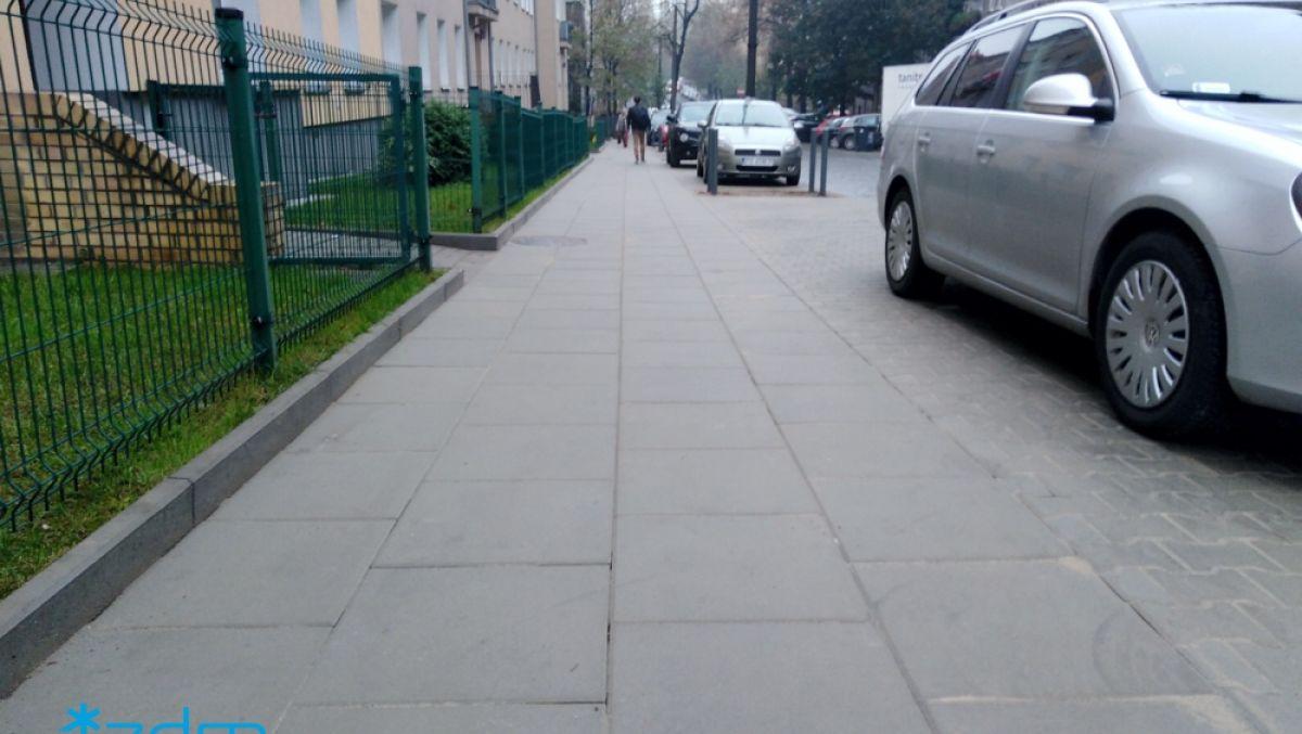 Dla pieszych na ul. Wierzbięcice