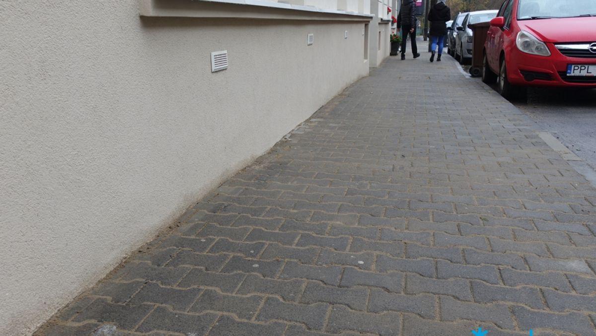 Wyremontowaliśmy chodniki na Winiarach