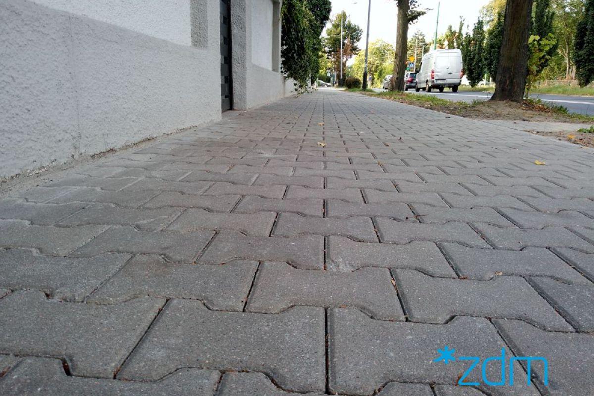 Nowy chodnik na ul. Wołyńskiej